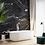 Обои черный мрамор, wallpaper bathroom The O, обои для ванной