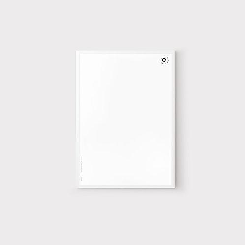 Белая деревянная рамка