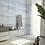 Обои голубые  Линии лайнером , wallpaper bathroom The O, обои для ванной
