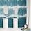 Обои Шибори бирюзовые, wallpaper bathroom The O, обои для ванной