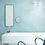 Обои масло бирюзовое, wallpaper bathroom The O, обои для ванной