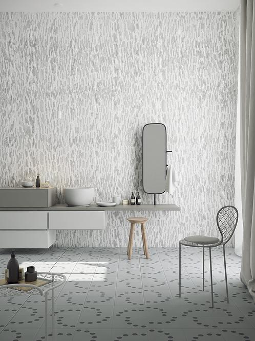Обои BW Линии лайнером , wallpaper bathroom The O, обои для ванной