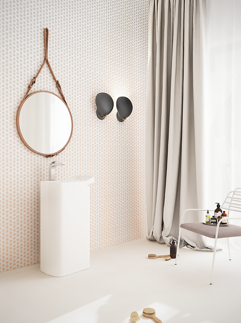 Обои чиркало, wallpaper bathroom The O, обои для ванной