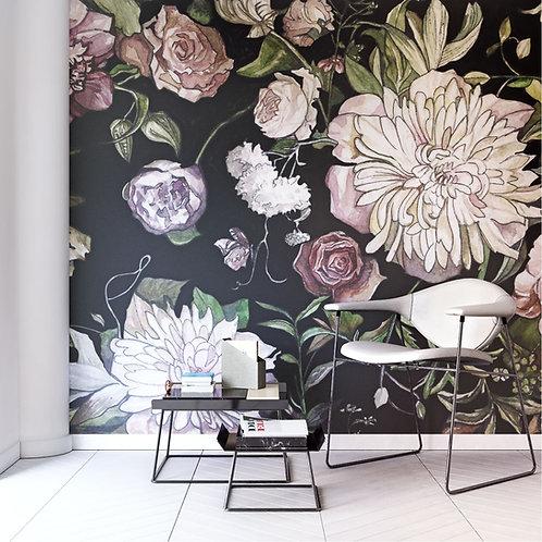 Flowers ilustrator Katie Lokotska