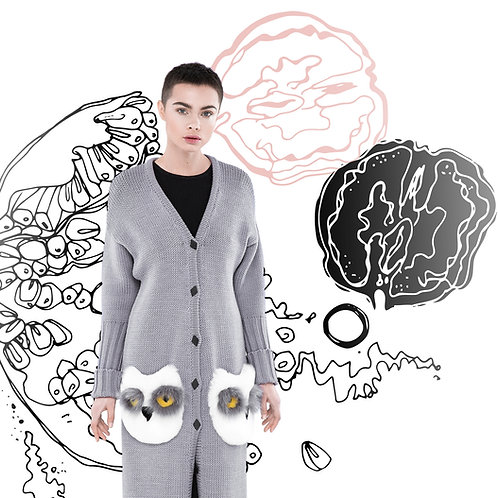 Grenades designer Sasha Godiaieva