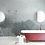 Обои в интерьере масляная живопись серые, wallpaper bathroom The O