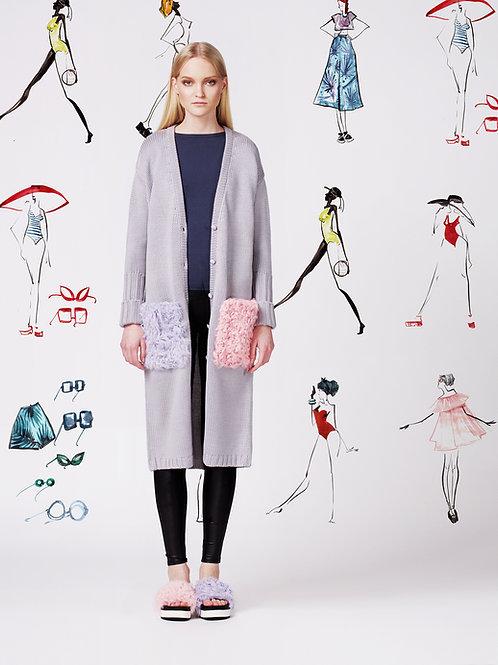 Fashion sketch designer Aleksandra Verhovskaya