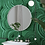 Обои Малахит зеленый, wallpaper bathroom The O, обои для ванной