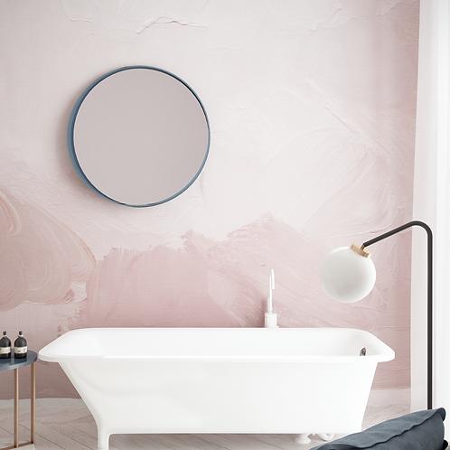 Обои масло розовое, wallpaper bathroom The O, обои для ванной