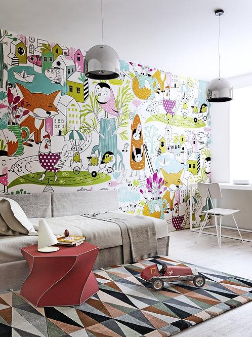 Зайцы и морковки designer Olga Digtiyarova