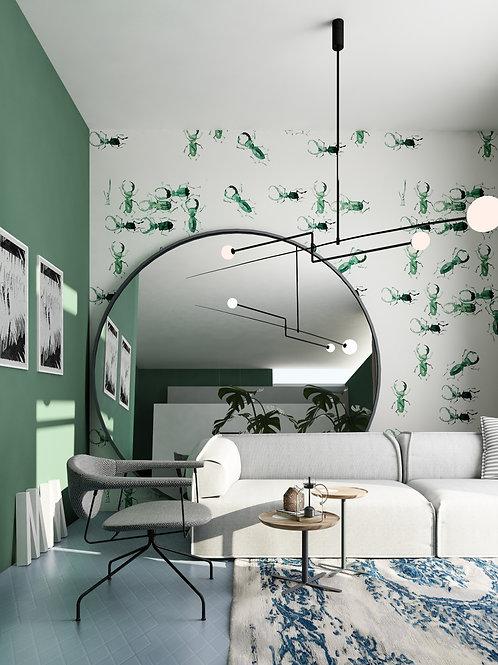 Emerald Beetles designer Yevhenii Litvinenko