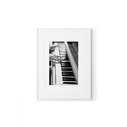 Piano BW, photography