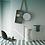 Обои Градиент голубой, wallpaper bathroom The O, обои для ванной