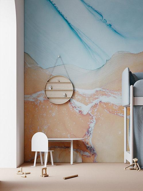 """Fluid art"" design Anastasia Pyvovarevych"