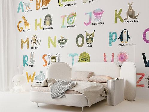 """""""Алфавит"""" design Olga Degtiarova"""