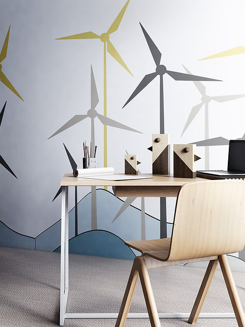 """Mill"" design Pavel Vetrov"