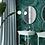 Обои Малахит бирюзовый, wallpaper bathroom The O, обои для ванной