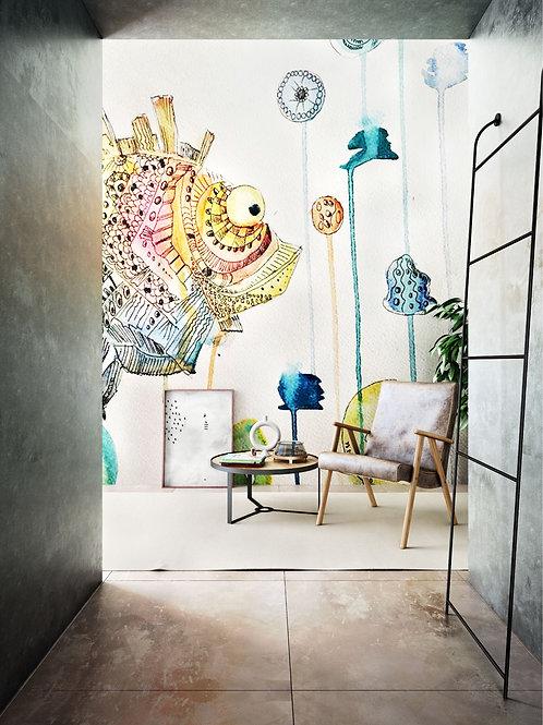 Рыба из книги designer Andrey Belik
