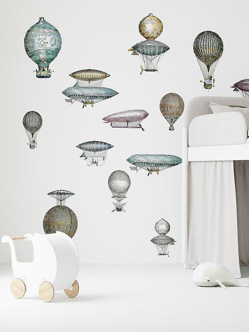 """Aeronauts"" design Litvinenko Yevhenii"