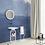 Обои Шибори синий, wallpaper bathroom The O, обои для ванной