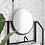 BW Обои для ванной Монстера, wallpaper bathroom The O