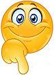 emoticon-pointing-down-happy-emoji-his-f