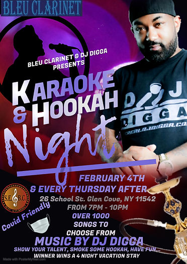 Copy of Karaoke Night Flyer - Made with