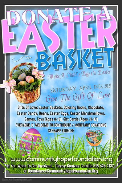 Copy of Easter Basket Sale - Made with P