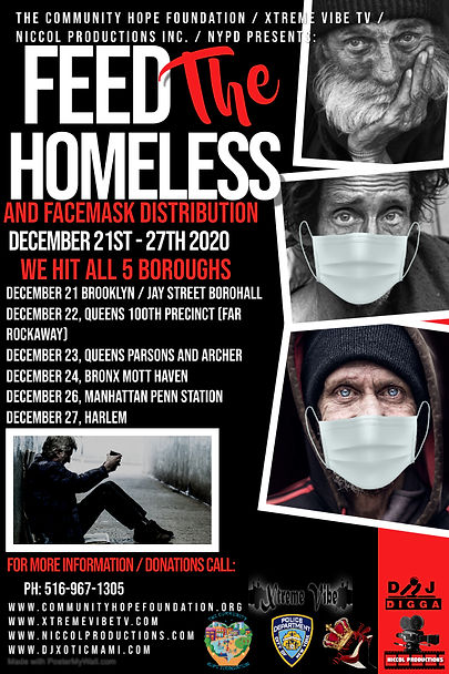 Copy of Feed The Homeless Poster - Made