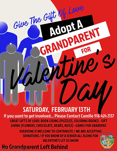 Copy of Grandparents Day Flyer Template