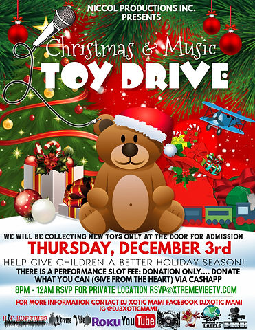 Copy of Copy of Toy Drive - Made with Po