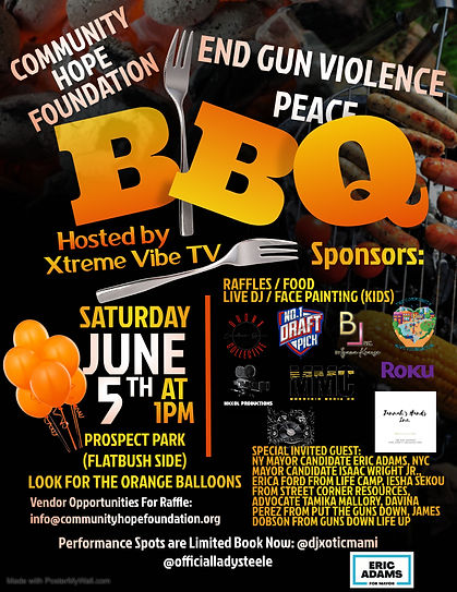 Copy of BBQ party Flyer - Made with Post