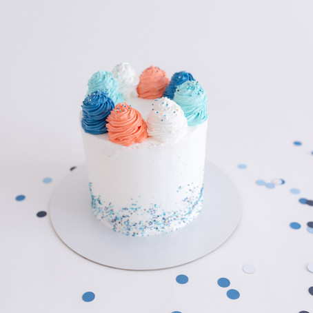 Smash Cake en couleurs