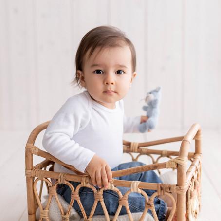 Logan, séance photo bébé à Aigle
