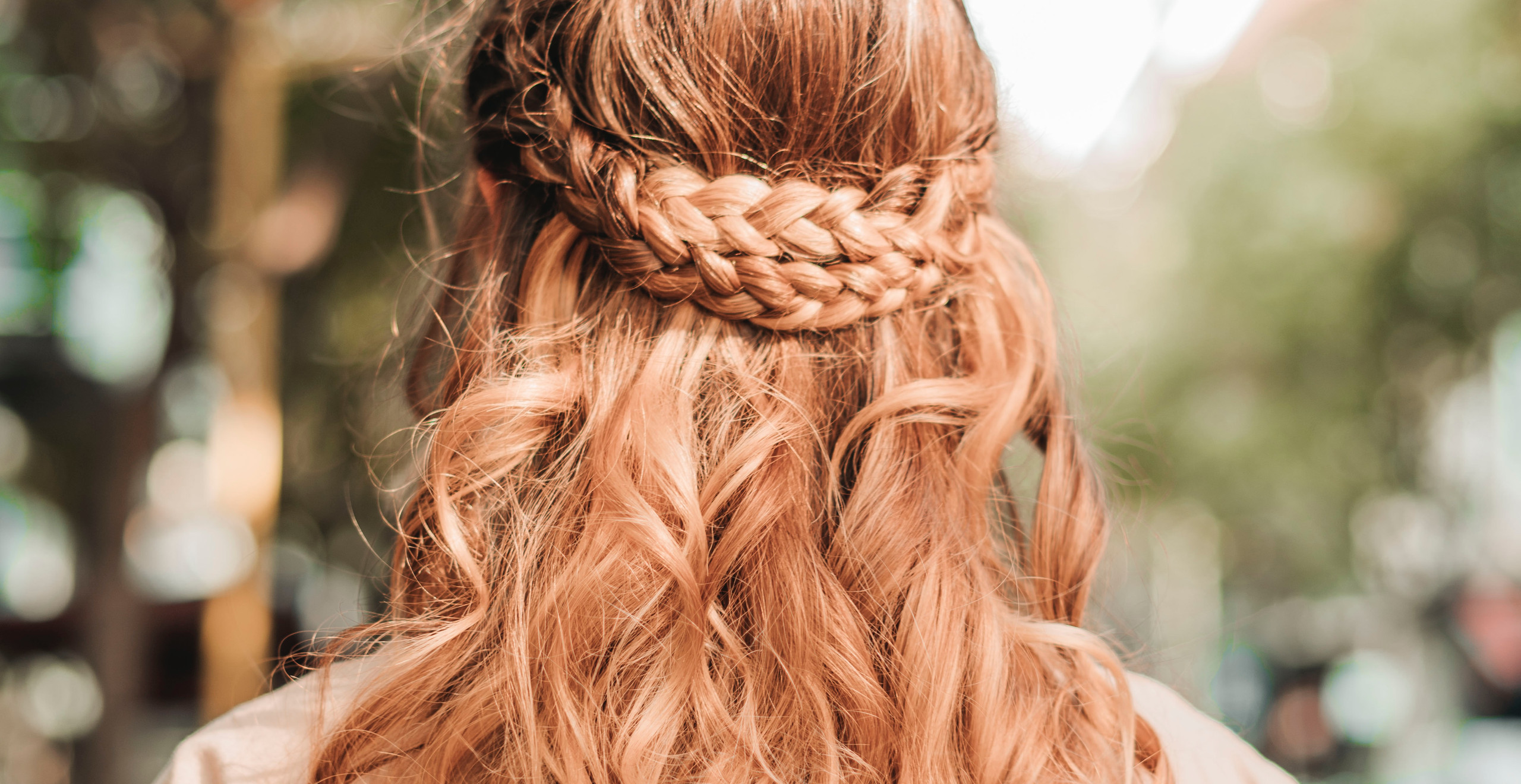 coiffure romantique bohème