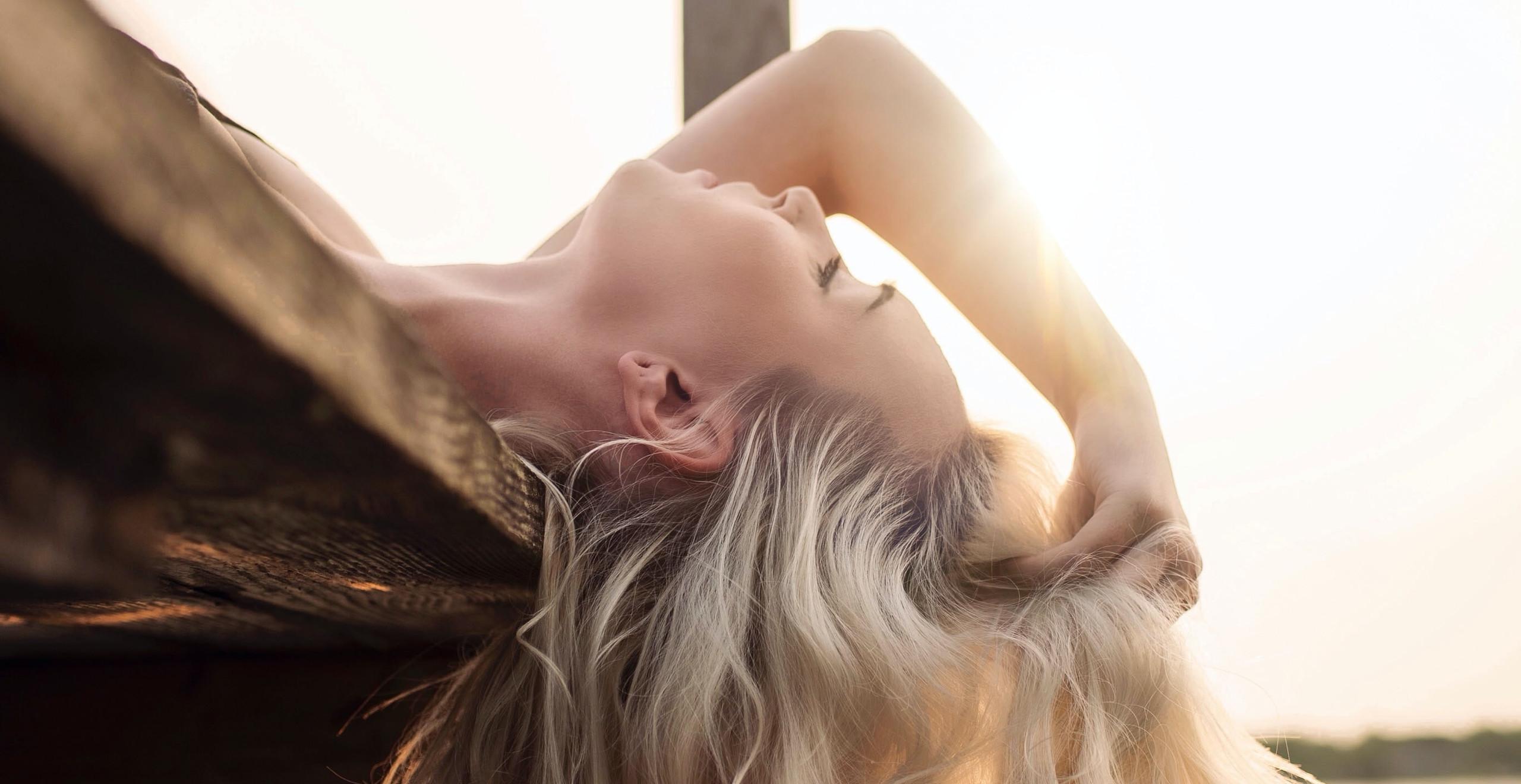 coiffure blond californien
