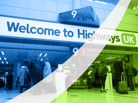 Highways UK 2019 NEC Birmingham Review - by Specialist Highway Surveyors Ginger Lehmann