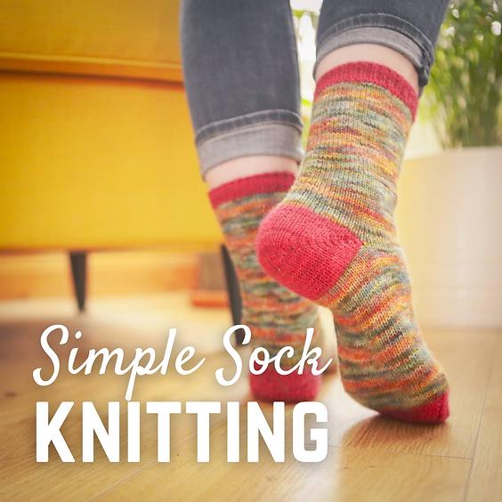 Simple Sock Knitting
