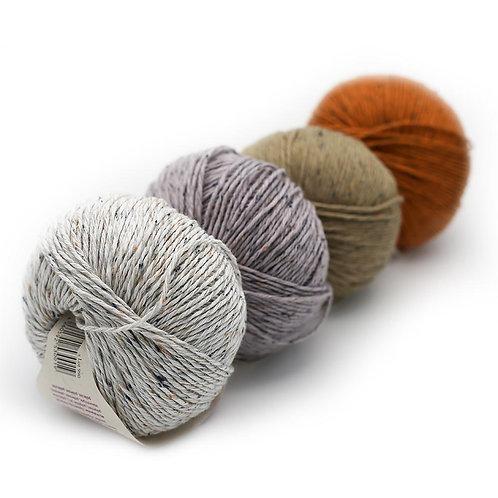 Erika Knight Gossypium Cotton Tweed Group