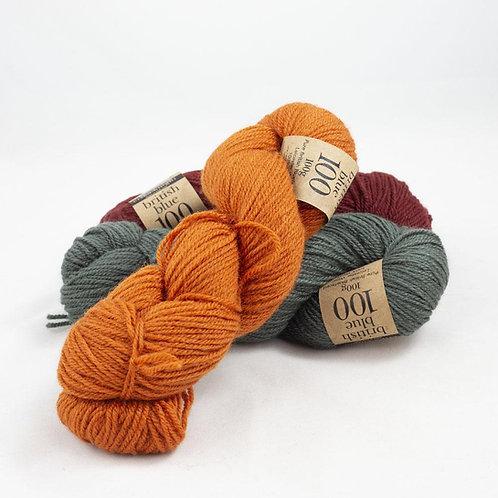 Erika Knight British Blue Wool Group