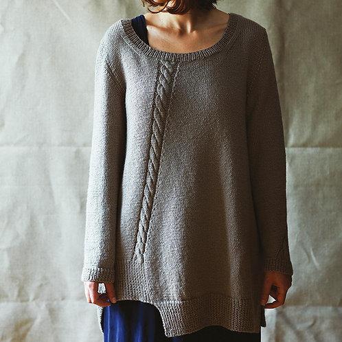 Erika Knight Virginia Sweater Pattern