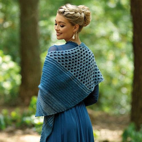 WYS Eloise Crochet Shawl