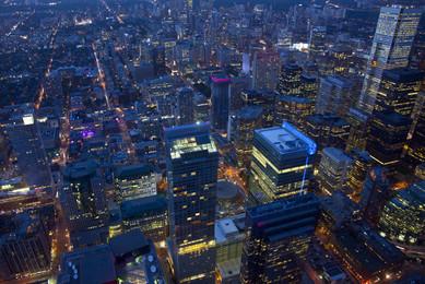 Downtown Toronto Aerial