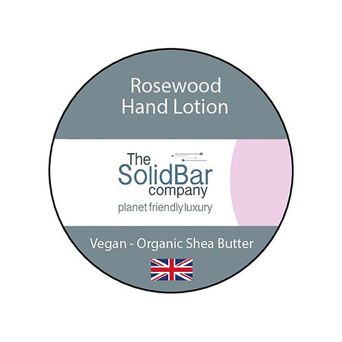 Solid Bar Rosewood Hand Lotion Bar