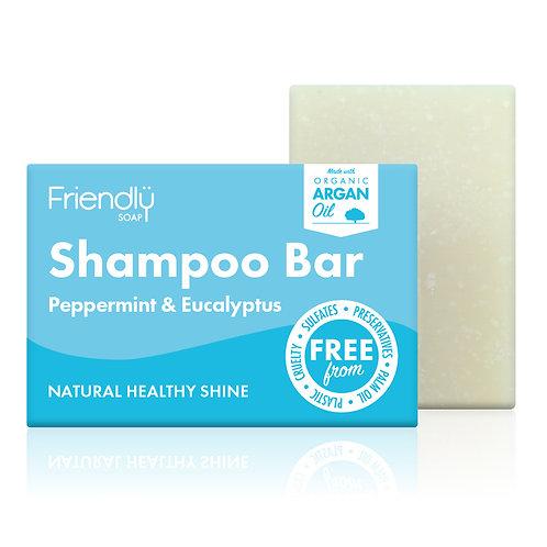Friendly Peppermint and Eucalyptus Shampoo Bar