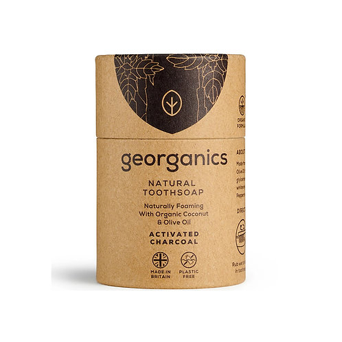 Georganics Natural Tooth Soap - Activated Charcoal