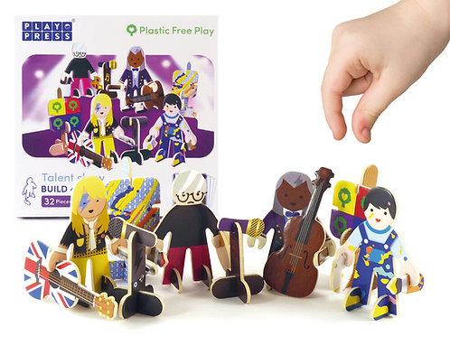 Playpress Talent Show Character Set