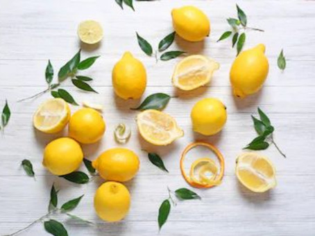 The Humble Lemon: Not Just For Your G&T!