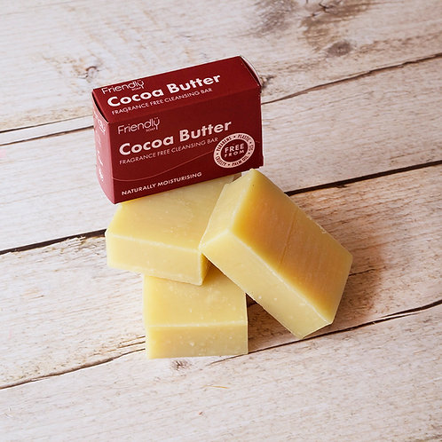 Friendly Cocoa Butter Facial Cleansing Bar