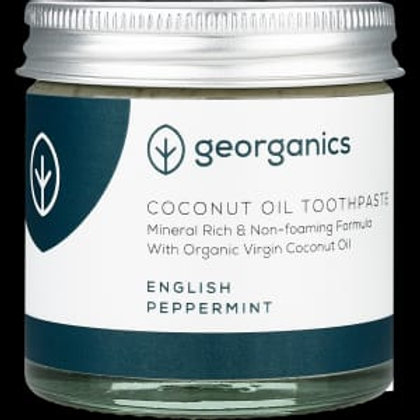 Georganics Natural Mineral-Rich Toothpaste - English Peppermint